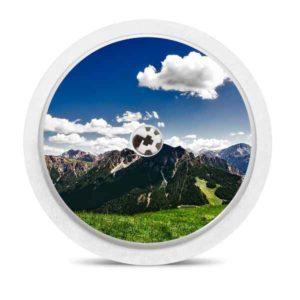 Freestyle Libre Sticker Berge