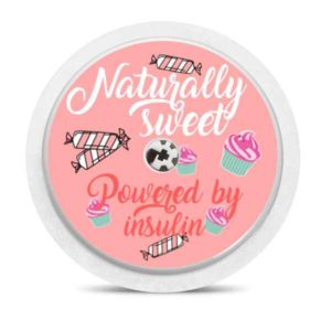 Freestyle Libre Sticker Naturally sweet