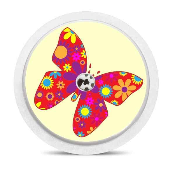 Freestyle Libre Sticker Schmetterlin