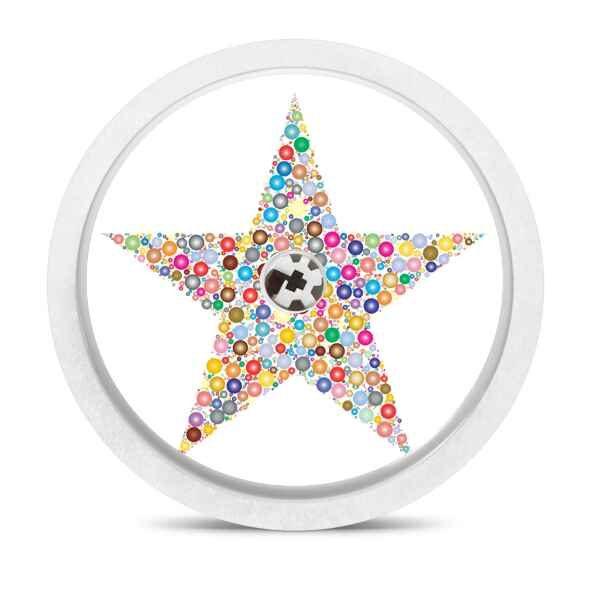 Freestyle Libre Sticker Stern