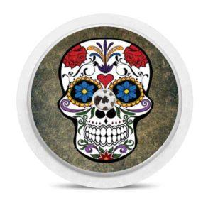 Freestyle Libre Sticker Totenkopf