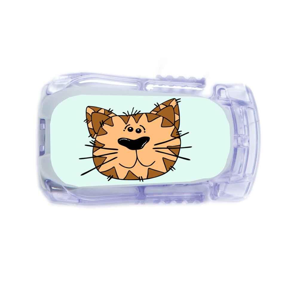 Dexcom Sticker Katze