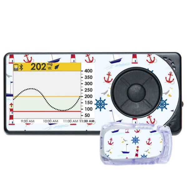 Dexcomsticker für Receiver und Transmitter