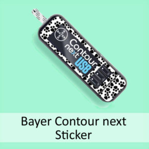 Sticker für Bayer Contour next