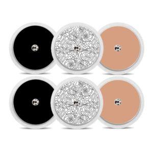Freestyle Libre Sticker Haut und Schwarz Black & White
