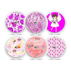 Freestyle Libre Sticker Girls Mädchen Pink