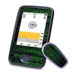 Dexcom Sticker Receiver G6 mit Matrixmotiv
