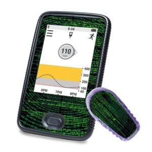 Dexcom Sticker Receiver G6 mit Matrixmotiv