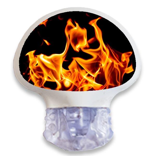 Enlite Guardian Sensor Sticker Aufkleber Flames Flammen