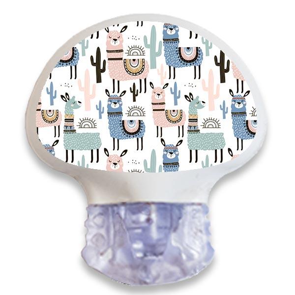 Enlite Guardian Sensor Sticker Aufkleber Lama