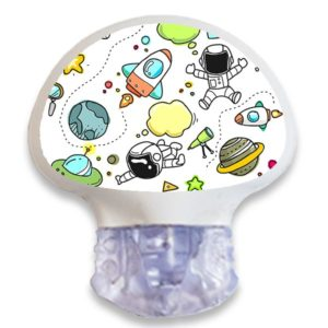 Enlite Guardian Sensor Sticker Aufkleber Weltraum