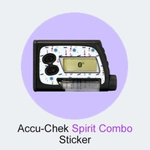 Accu-Chek Spirit Combo Sticker