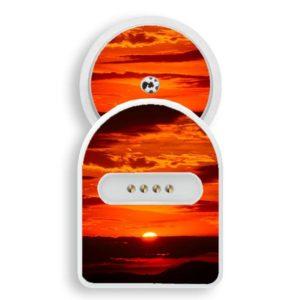 MiaoMiao 1 Sticker Sonnenuntergang Natur