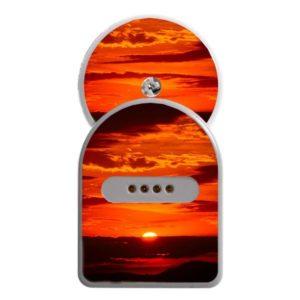MiaoMiao Sticker Sonnenuntergang inklusive Freestyle Libre Sticker
