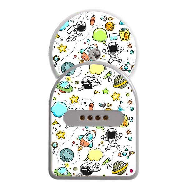 MiaoMiao Sticker Weltraum inklusive Freestyle Libre Sticker