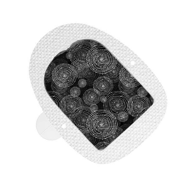 Omnipod Sticker Black Circles