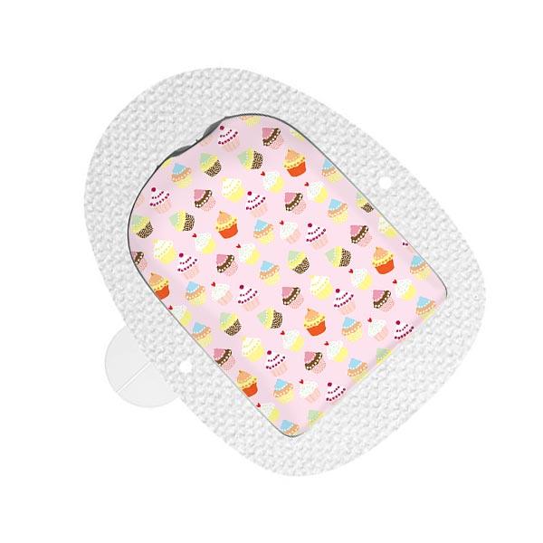 Omnipod Sticker Cupcakes
