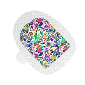 Omnipod Sticker Happy Flowers