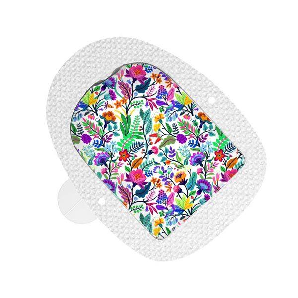 Omnipod Sticker Happy Flowers
