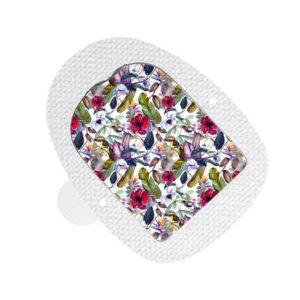 Insulet Omnipod Sticker Wild Flowers