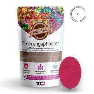Fixierungspflaster für Freestyle Libre und Katheter Pink Rosa