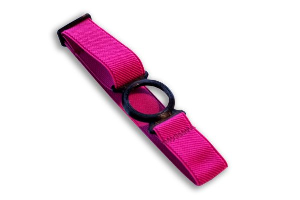 Freestyle Libre Fixierband Ring Schwarz/Pink (Flexibel/Sensitiv)