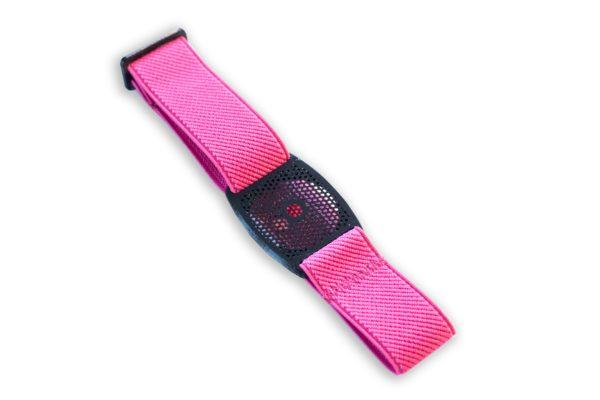 Freestyle Libre Fixierband Gitter Schwarz/Pink (Flexibel/Sensitiv)