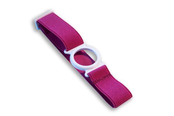 Freestyle Libre Fixierband Ring Weiß/Pink (Flexibel/Sensitiv)