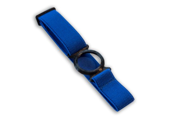 Freestyle Libre Fixierband Ring Schwarz/Royal-Blau (Flexibel/Sensitiv)
