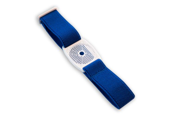 Freestyle Libre Fixierband Gitter Weiß/Royal-Blau (Flexibel/Sensitiv)