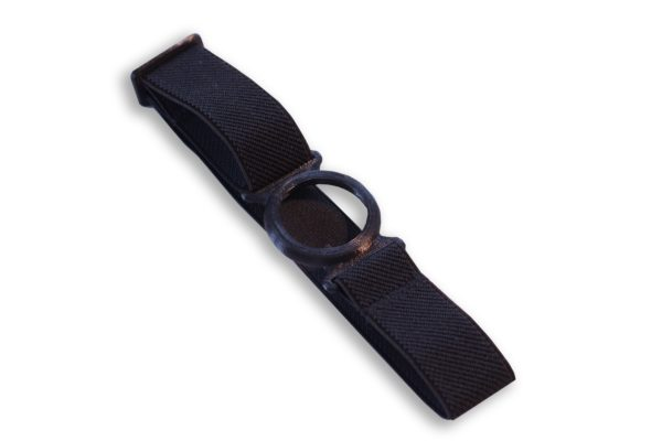 Freestyle Libre Fixierband Ring Schwarz/Schwarz (Flexibel/Sensitiv)