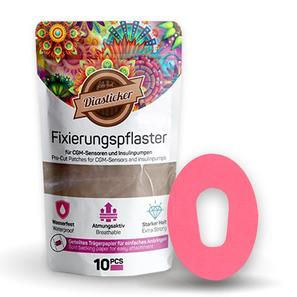 Dexcom G6 Fixierungspflaster Tape Pink