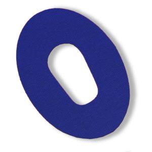 Dexcom G6 Fixierung Pflaster Blau