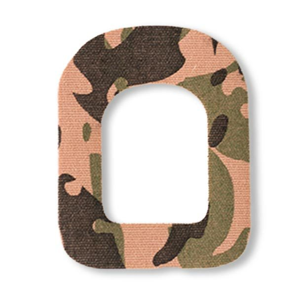 Omnipod Fixierung Pflaster Camouflage