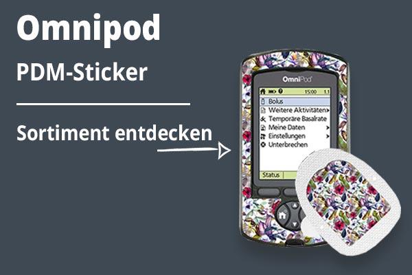 Omnipod PDM-Sticker kategoriebild