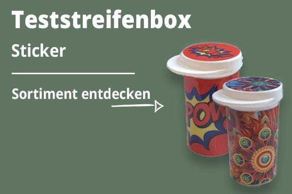 Teststreifenboxsticker KAT