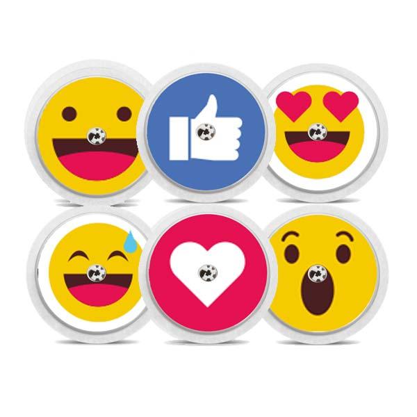Diabetes Freestyle Libre Sticker Emojis Smiley
