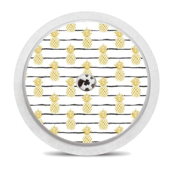 Freestyle Libre Sticker Sensorsticker Pineapple