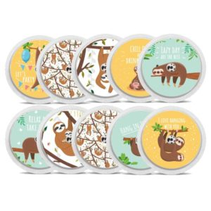 Diabetes Freestyle Libre Sticker Faultiere Sloth