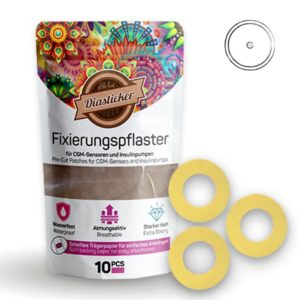 Freestyle Libre Fixierpflaster Gelb