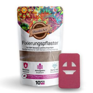Enlite Guardian Fixierung Pflaster Pink Rosa