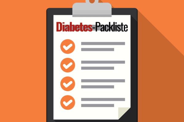 Diabetes Packliste