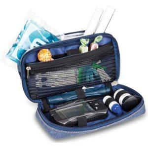 Diabetes-Tasche DIABETIC'S Innenblau bitone