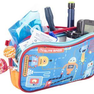 Diabetes-Tasche DIA'S bunt Roboter
