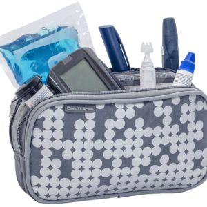 Diabetes-Tasche DIA'S silber