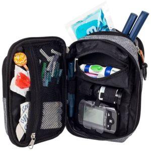 Diabetes-Tasche FIT'S EVO von innen