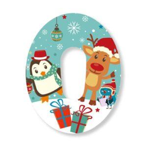 Dexcom G6 Fixierung Pflaster Weihnachten Christmas