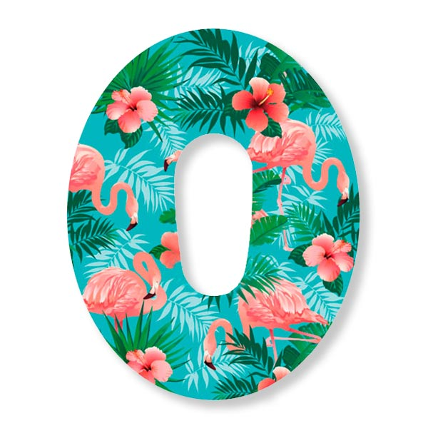 Dexcom G6 Fixierung Pflaster Universum All Flamingo