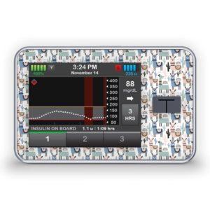 Sticker für die Tandem Diabetes Care t:slim X2 Insulinpumpe Design No Drama Lama