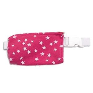 Insulinpumpentasche, Bauchtasche für insulinpumpe Sterne Pink
